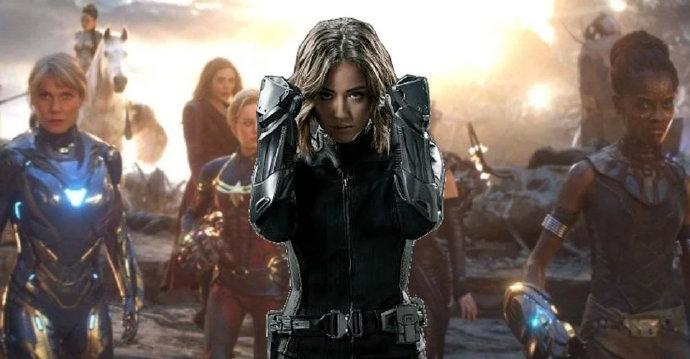 《神盾局特工》的汪可盈表示漫威如果需要她参演新全女英雄电影,她绝对愿意参与!-美剧品鉴社