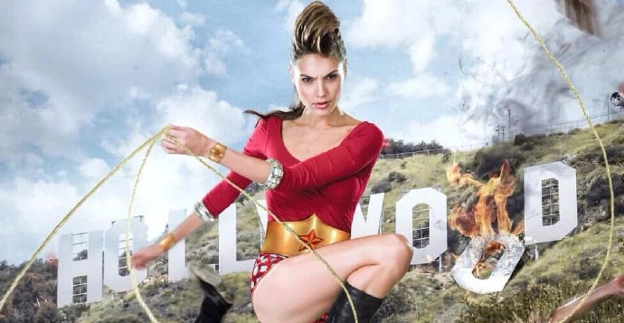 盖尔·加朵因DC超级英雄「神奇女侠」一角红遍全球,其旧照也随之流传-美剧品鉴社