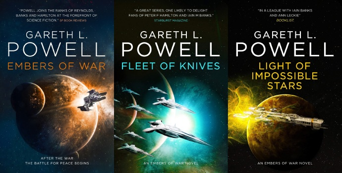 Stampede Ventures和Wiip将联手把Gareth L. Powell的史诗科幻小说《战争余烬》改编成电视剧-美剧品鉴社