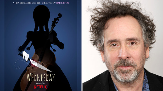 Netflix宣布预订Tim Burton的《亚当斯一家》角色衍生剧《星期三》-美剧品鉴社