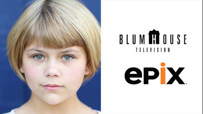 Lia McHugh加盟Epix与Blumhouse电视部门合作制作8部恐怖题材电视电影,饰演14岁的Anna-美剧品鉴社