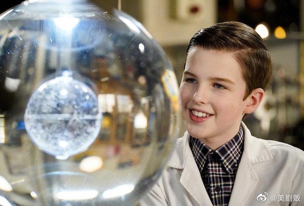 CBS电视网宣布一口气续订《少年谢尔顿》三季,分别是第5、6、7季-美剧品鉴社