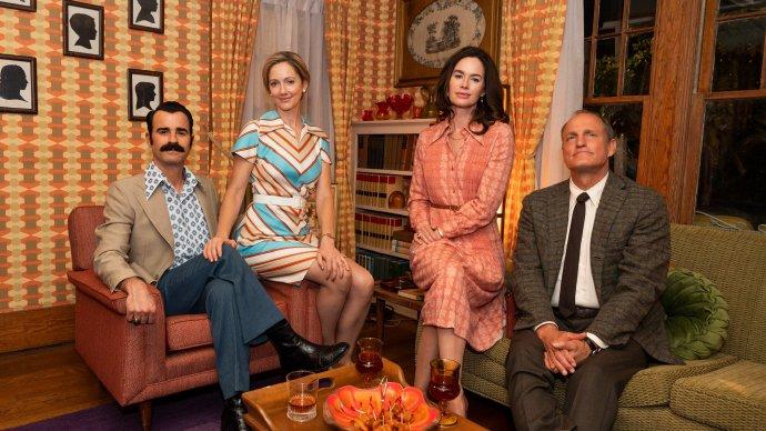 Woody Harrelson和Justin Theroux主演的HBO五集限定剧《白宫水管工》发布第二张剧照-美剧品鉴社