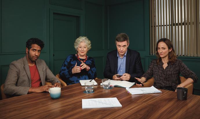 英版《找我经纪人》发布首张剧照,Amazon拿下英国和爱尔兰播出权-美剧品鉴社